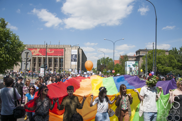 Marsz Równości przeszedł ulicami Krakowa