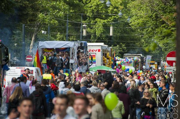Regenbogen Parade 2015 Wien