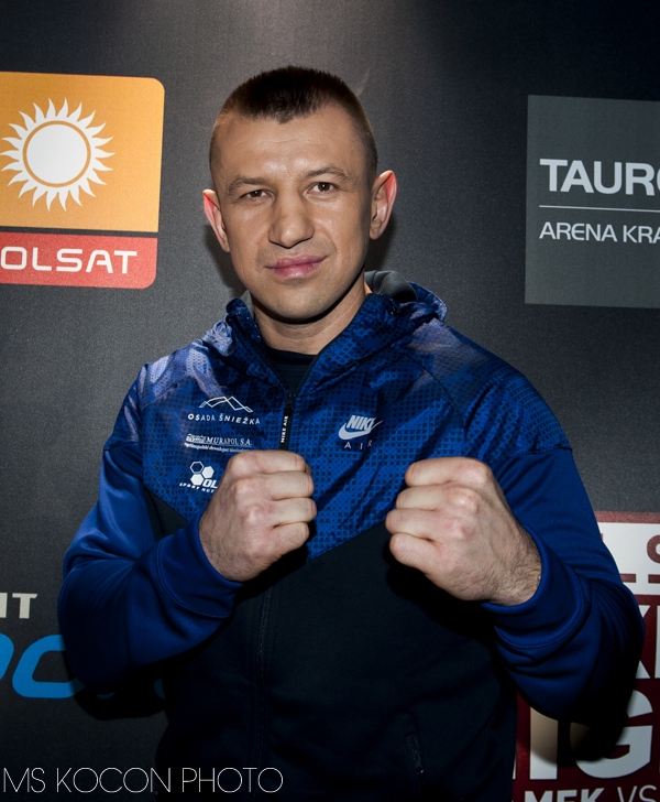 Konferencja Polsat Boxing Night w TAURON Arenia Kraków