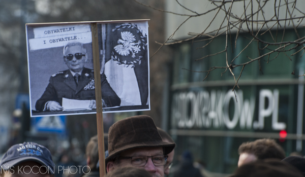 Manifestacja w obronie mediow publicznych, Kraków