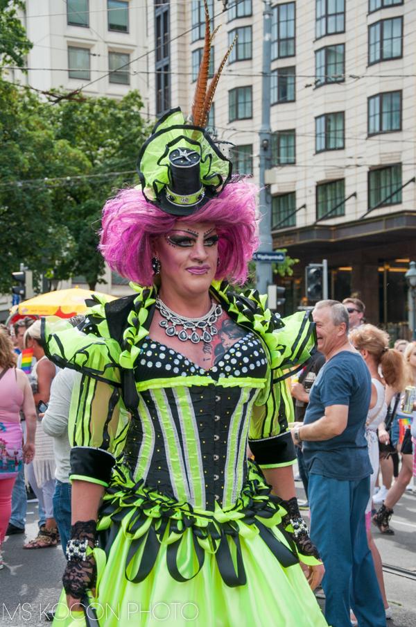 Regenbogenparade na ulicach Wiednia